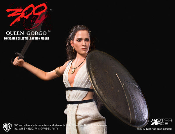 1/6 Scale 300: Rise of an Empire Queen Gorgo Figure by Star Ace Toys
