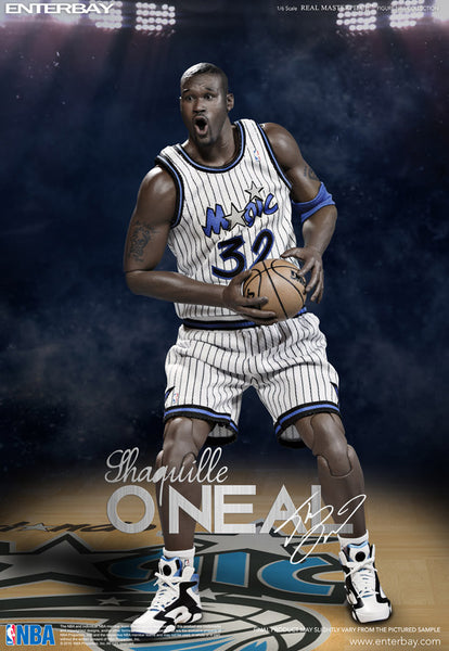 1/6 Scale Shaquille O'Neal NBA L.A Lakers and Orlando Magic Duo Pack Figures by Enterbay