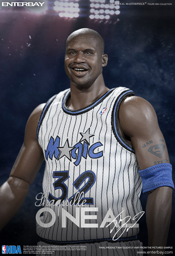 reputable site 35072 a61cc ... 1 6 Scale Shaquille O Neal NBA L.A Lakers and Orlando Magic Duo Pack ...