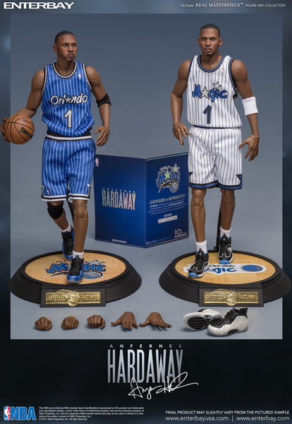 "1/6 Scale Anfernee ""Penny"" Hardaway NBA Orlando Magic Figure by Enterbay"