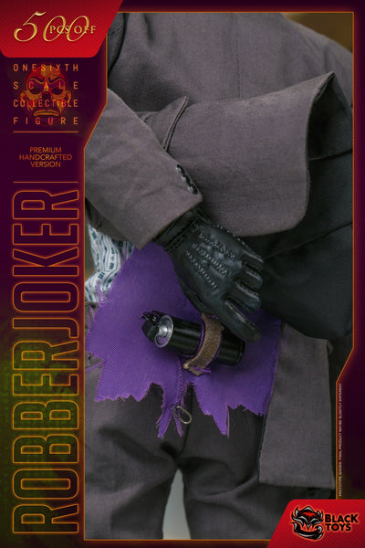 1/6 Scale Bank Robber J Figure (Handcrafted Version) by Black Toys