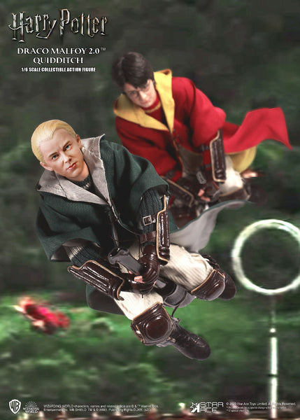 1/6 Scale Harry Potter & The Chamber of Secrets - Harry Potter & Draco Malfoy Figure Set (Quidditch Version) by Star Ace Toys