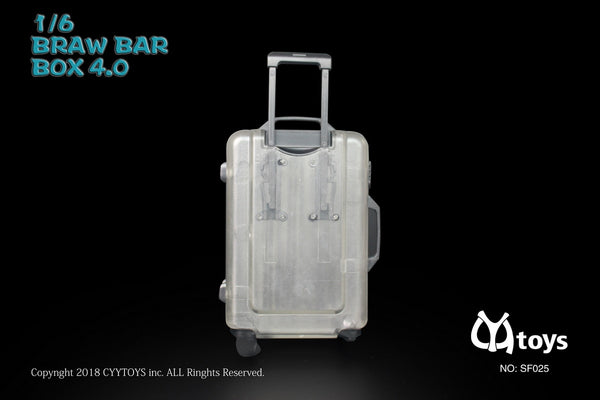 1/6 Scale Classic Multiwheel Luggage Suitcase (4 Colors) by CYY Toys