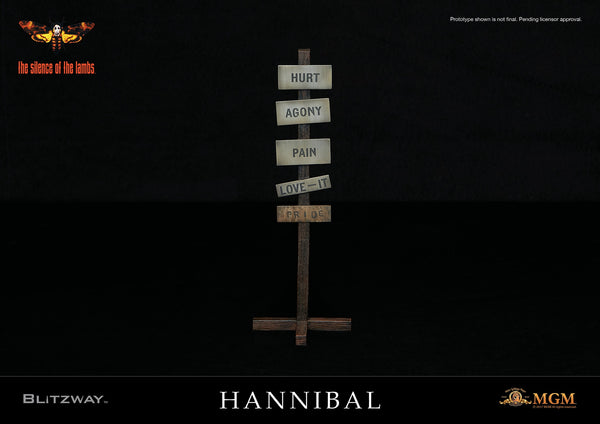 1/6 Scale The Silence of the Lambs Hannibal Lecter (Straitjacket Version) Figure by Blitzway