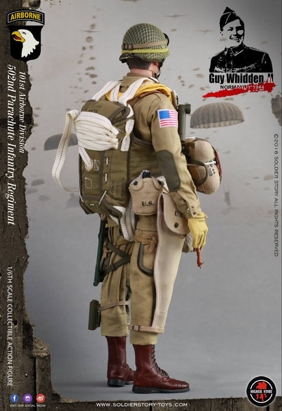 "1/6 Scale WWII 101st Airborne Division ""Guy Whidden, II"" Figure (SS110) by Soldier Story"