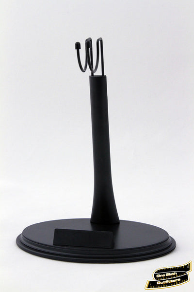 Generic Blank Display Stand for 1/6 Scale Figures (With Name Plate)