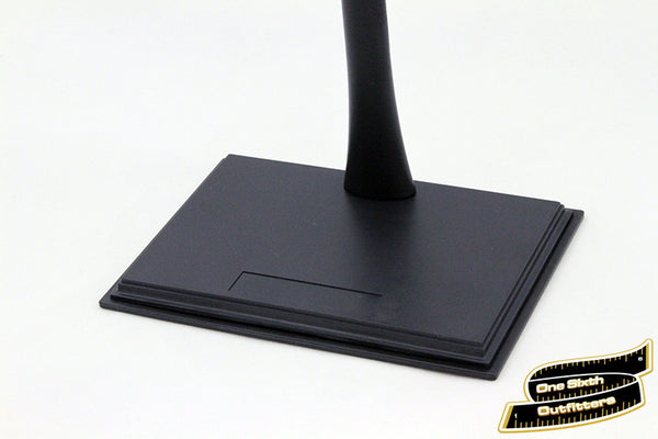 Generic Blank Rectangle Display Stand for 1/6 Scale Figures