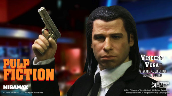 1/6 Scale Pulp Fiction Jules Winnfield and Vincent Vega Figures by Star Ace Toys
