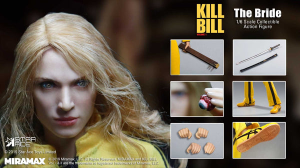 1/6 Scale Kill Bill (Vol. 1) - The Bride Figure by Star Ace Toys