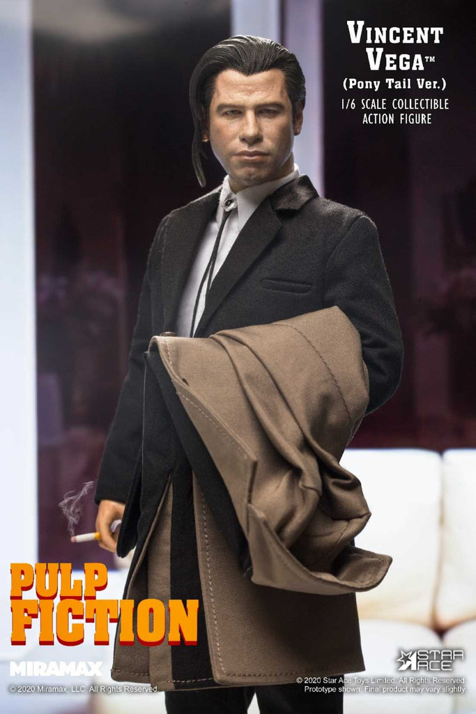 1/6 Scale Pulp Fiction – Vincent Vega 2.0 Figure (Deluxe Version) by Star Ace Toys
