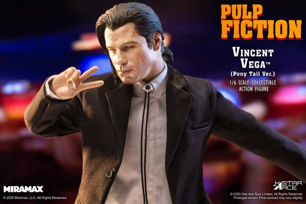 1/6 Scale Pulp Fiction – Vincent Vega 2.0 Figure (Normal Version) by Star Ace Toys