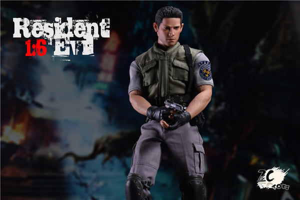 1/6 Scale RE Zombie Police Officer by ZC Toys