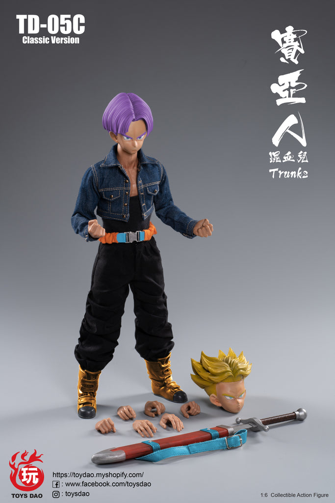 1/6 Scale SS Trunks Figure (Classic Version) by ToysDao