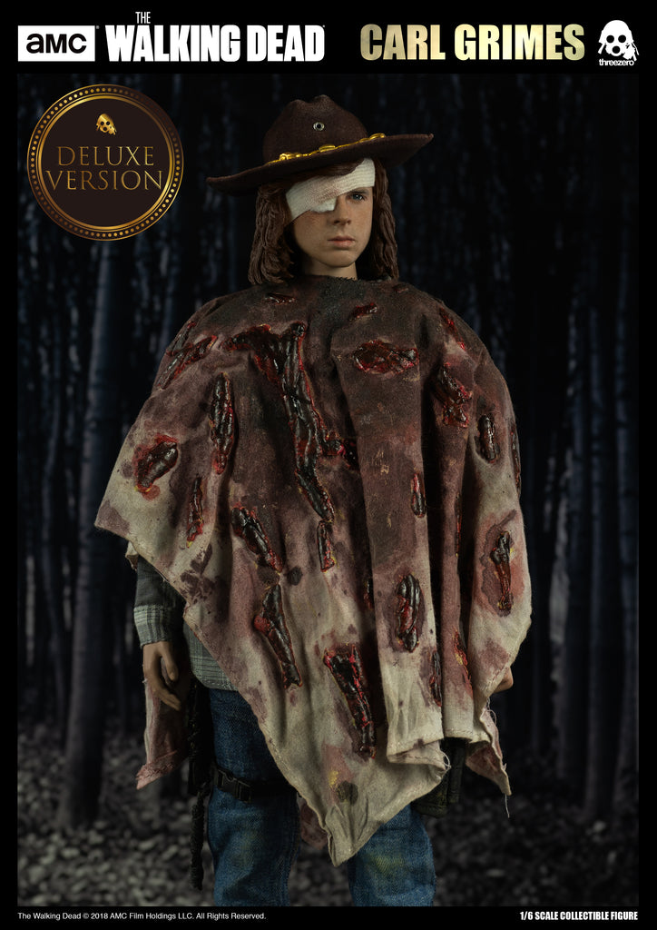 1/6 Scale The Walking Dead - Carl Grimes Figure (Deluxe Version) by Threezero