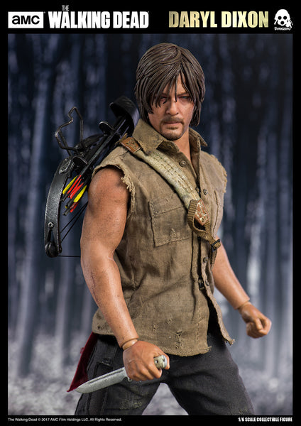 1/6 Scale The Walking Dead Daryl Dixon Figure by Threezero