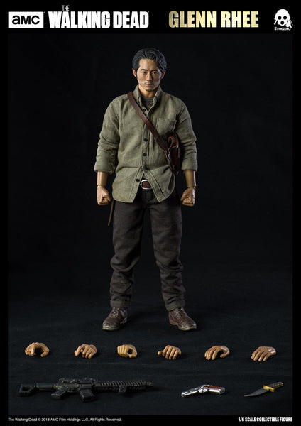 1/6 Scale AMC The Walking Dead Glen Rhee Figure by Threezero