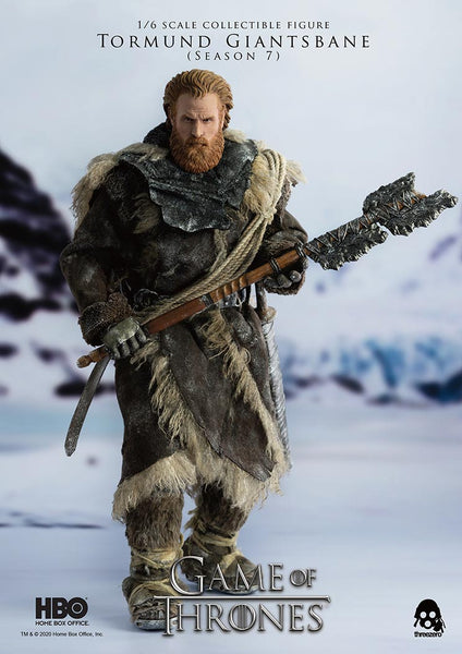 1/6 Scale Game of Thrones – Tormund Giantsbane Figure by Threezero