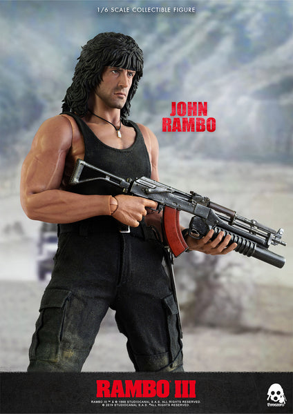 1/6 Scale Rambo III – John Rambo Figure by ThreeZero