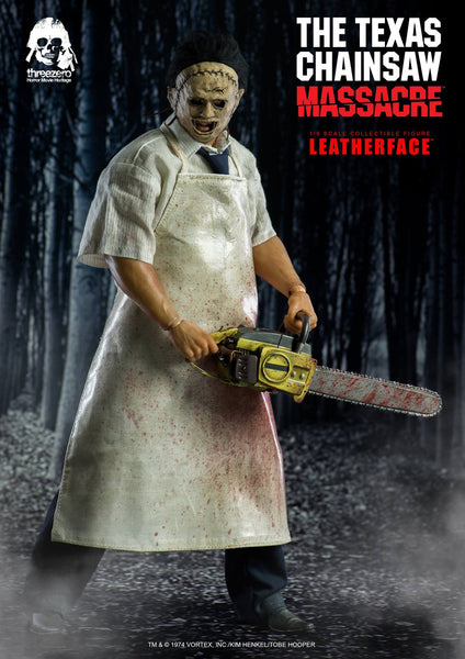 1/6 Scale The Texas Chainsaw Massacre Leatherface Figure by Threezero
