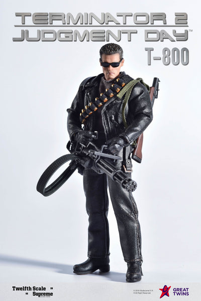 1/12 Scale Terminator 2: Judgement Day – T-800 Figure by Great Twins