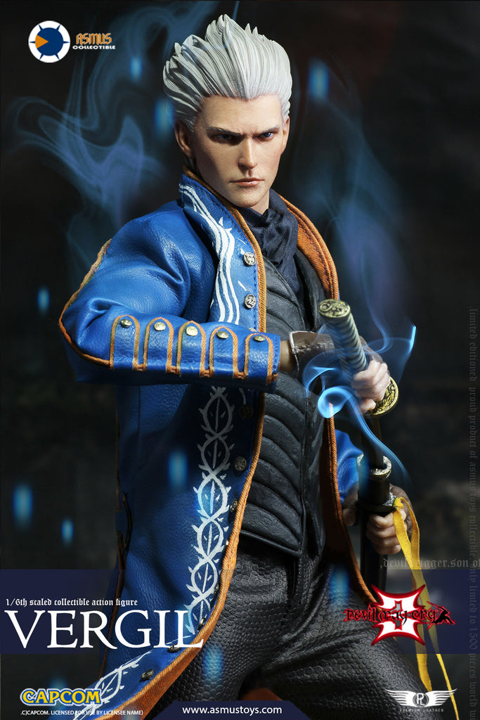 Asmus toys devil may cry 3 vergil 16th scale collectible figure 16 scale devil may cry 3 vergil figure by asmus toys voltagebd Images