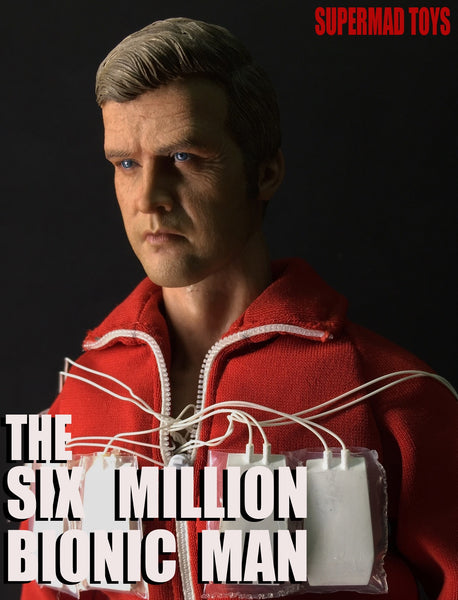 1/6 Scale The Six Million Bionic Man Figure by SuperMad Toys