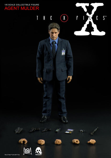 1/6 Scale The X Files - Agent Mulder Figure (Standard Version) by Threezero