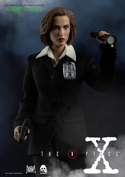 1/6 Scale The X Files - Agent Scully Figure (Standard Version) by Threezero