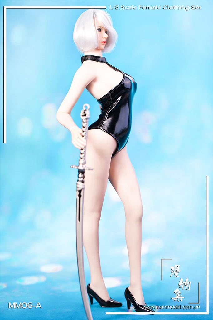 1//6 Scale Female One Piece Training Swimsuit Bathing Suit for 12/'/' Hot Toys B#