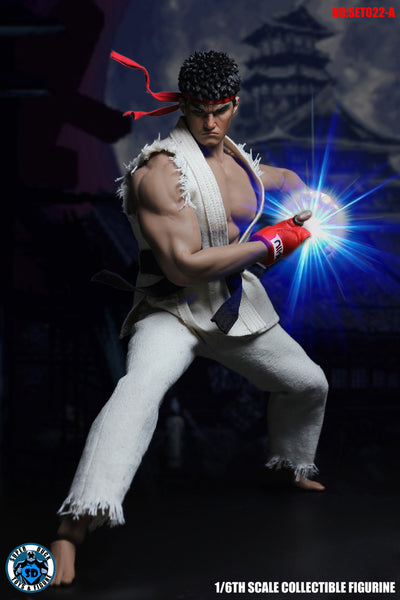 1/6 Scale Street Fighter Outfit Set by Super Duck Toys