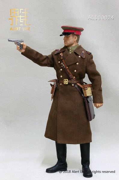 1/6 Scale WW2 1942 Red Army Infantry Senior Lieutenant Officer Set by Alert Line