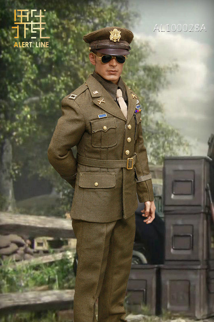 1/6 Scale WWII U.S. Army Captain Rogers Uniform A by Alert Line