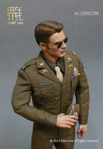 1/6 Scale WWII U.S. Army Captain Rogers Uniform B by Alert Line