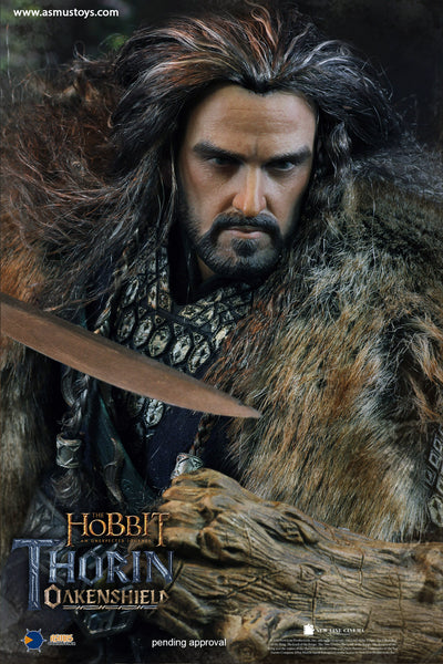1/6 Scale The Hobbit - Thorin Oakenshield Figure by Asmus Toys