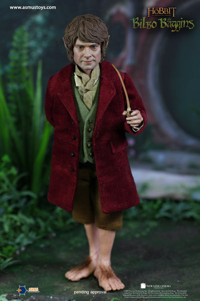 1/6 Scale The Hobbit – Bilbo Baggins Figure by Asmus Toys