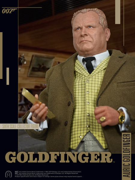 1/6 Scale Auric Goldfinger Figure by Big Chief Studios