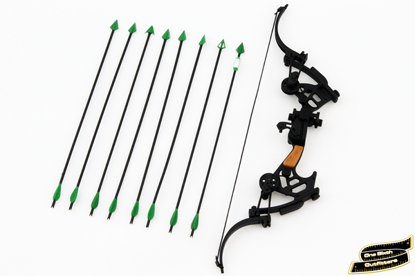 1/6 Scale Green Arrow Compound Bow