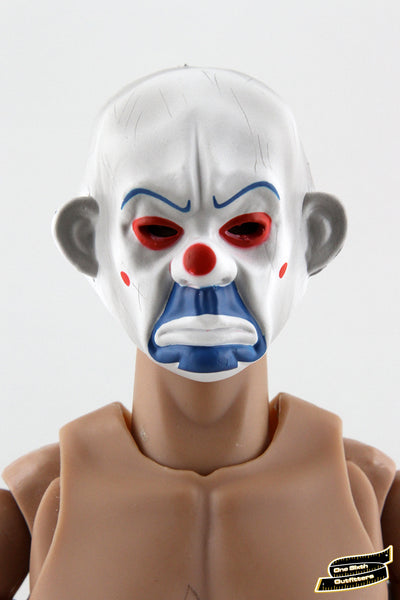 1/6 Scale Bank Robber Clown Mask