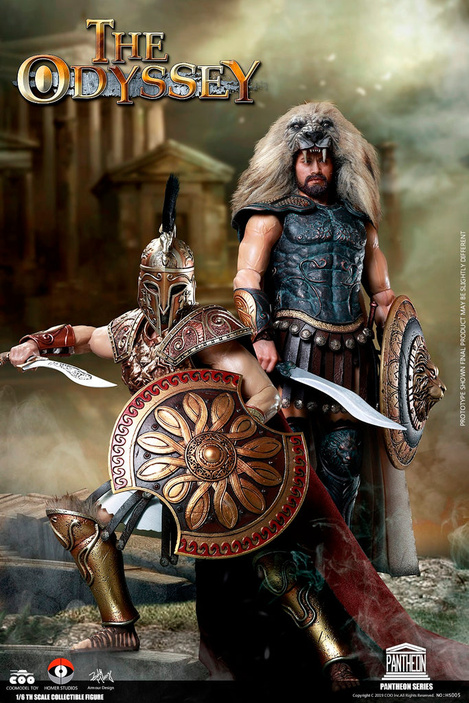 1/6 Scale The Odyssey (Ares & Hercules) Figure Set by COO Model
