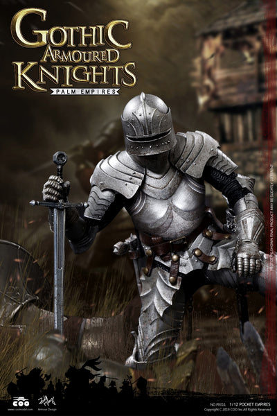 1/12 Scale Gothic Armored Knight Figure by COO Model