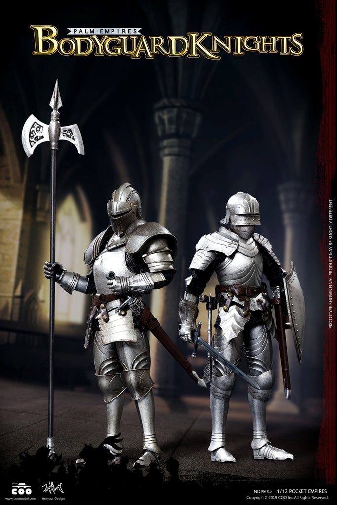 1/12 Scale Bodyguard Knights Figure Set by COO Model