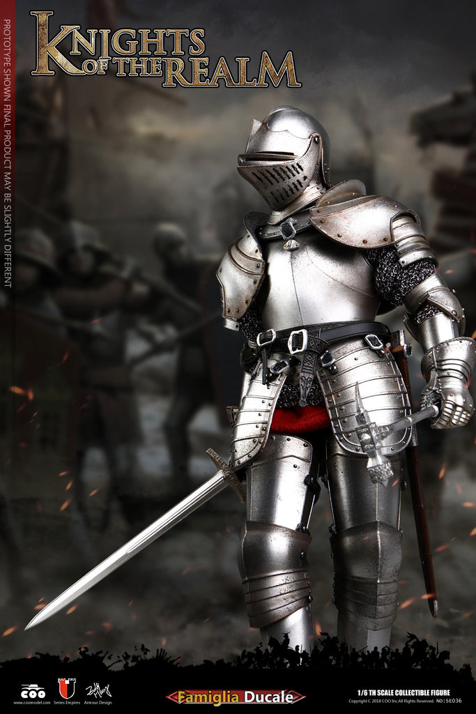 1/6 Scale Knights of the Realm Famiglia Ducale Figure by COO Model