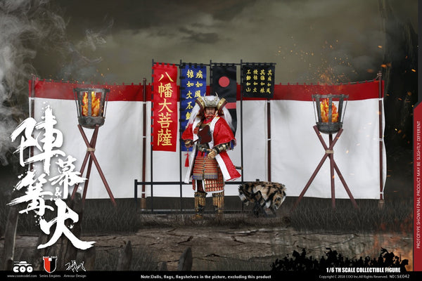 1/6 Scale Campfire in Battle Field Accessories Pack by COO Model