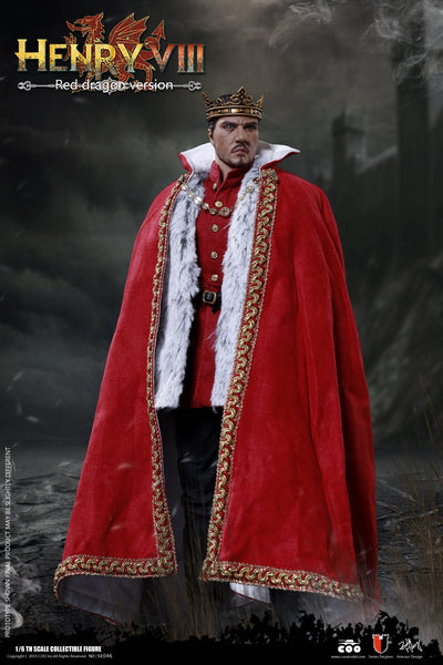 1/6 Scale Henry VIII Figure (Red Dragon Version) by COO Model