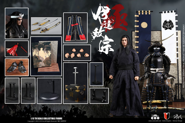 1/6 Scale Date Masamune Figure (Masterpiece Unique Version) by COO Model