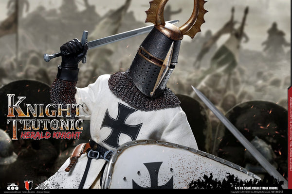 1/6 Scale Teutonic Knights - Herald Knight Figure by COO Model