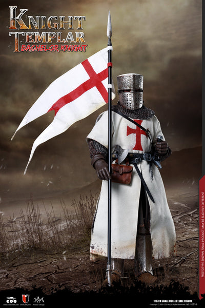 1/6 Scale Knights Templar - Bachelor Knight Figure by COO Model