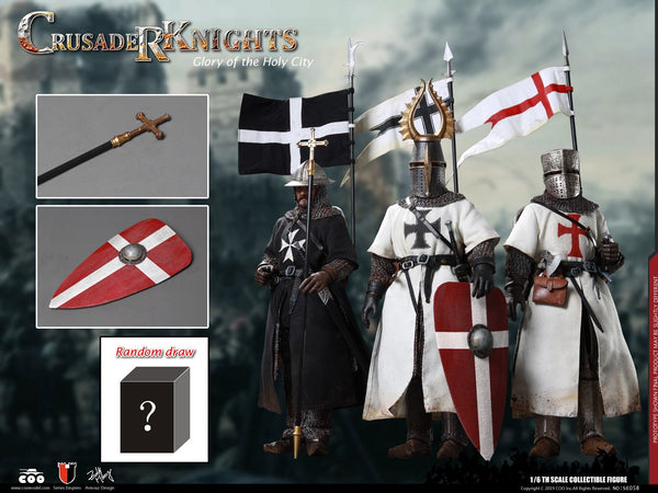 1/6 Scale Glory of the Holy City - Crusader Knights Figure Set by COO Model