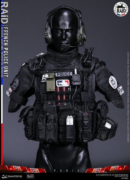 1/6 Scale French Police Unit - Raid in Paris Figure by DamToys
