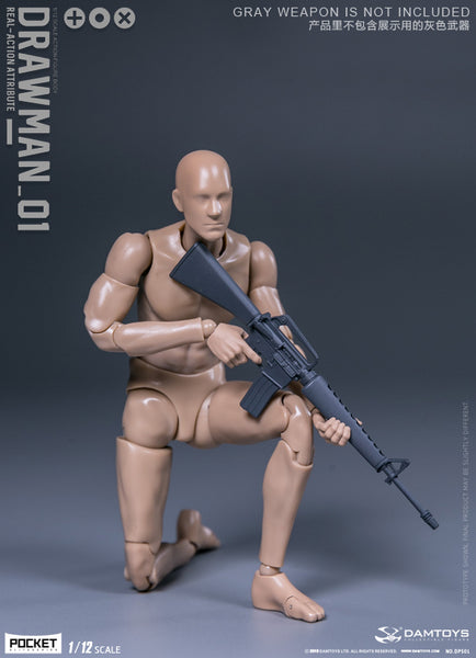 1/12 Scale Drawman Figure by DamToys